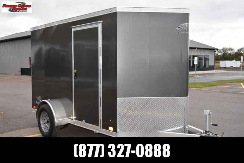 2019 ATC ALL ALUMINUM 6x10 CARGO TRAILER