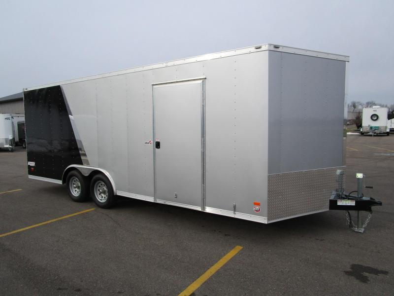 2019 BRAVO 8.5x20 STAR SERIES ENCLOSED CAR HAULER