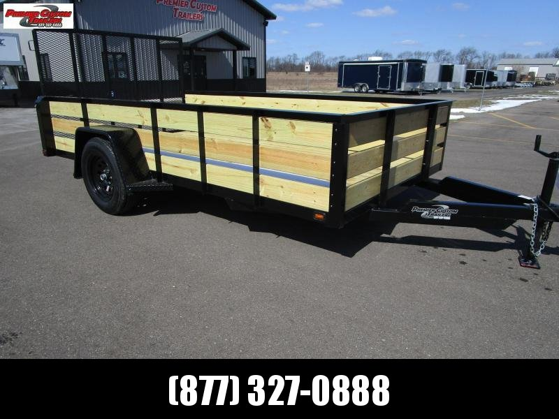 "2019 NATION 6'4""x12' OPEN UTILITY TRAILER in Ashburn, VA"