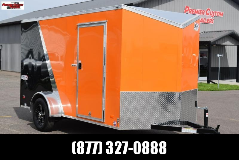 2019 BRAVO 6x12 SCOUT ENCLOSED MOTORCYCLE TRAILER