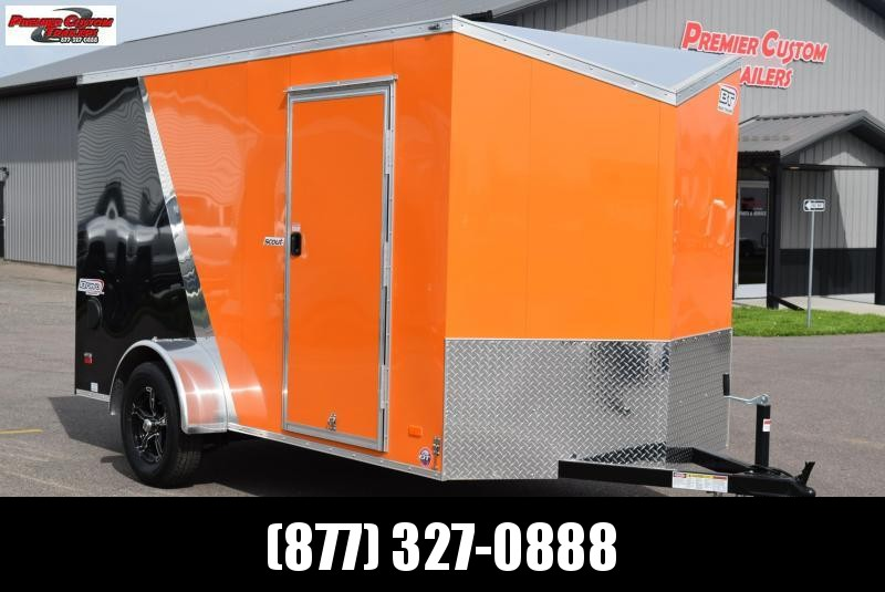 2019 BRAVO 6x12 SCOUT ENCLOSED MOTORCYCLE TRAILER in Ashburn, VA