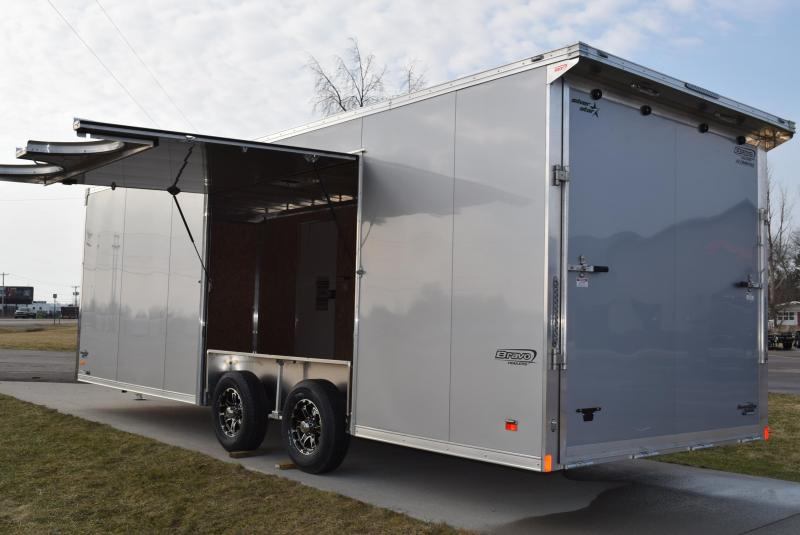 2019 BRAVO SILVER STAR 24' ALUMINUM ENCLOSED CAR HAULER