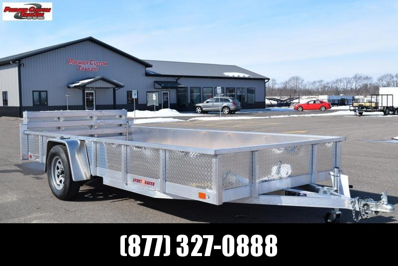 2019 SPORT HAVEN 6x14 OPEN UTILITY TRAILER w/ SIDES AND BI-FOLD RAMP in Ashburn, VA