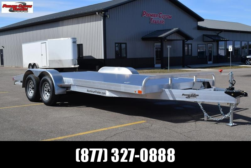 2019 ATC 18' ARROW CH ALUMINUM OPEN CAR HAULER