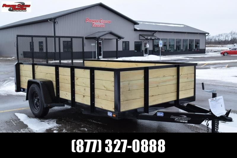"2019 NATION 6'4""x12' OPEN UTILITY TRAILER"