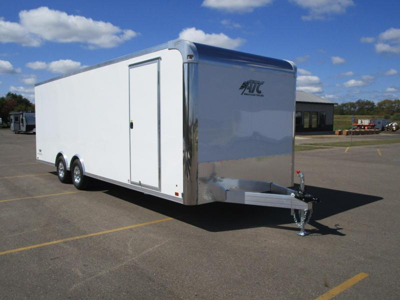 2019 ATC ALL ALUMINUM 8.5x24 RAVEN CAR HAULER