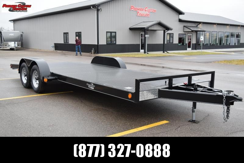 2019 NATION 20' EZ LOAD OPEN CAR HAULER