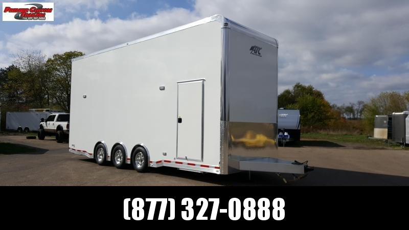 2019 ATC QUEST 26' STACKER ALL ALUMINUM RACE HAULER