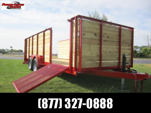 "2019 NATION 82""x18' OPEN LANDSCAPE TRAILER in Ashburn, VA"