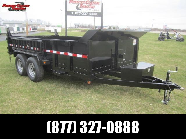 "2019 GRIFFIN 83""x12' DUMP TRAILER W/ 12K GVW in Ashburn, VA"