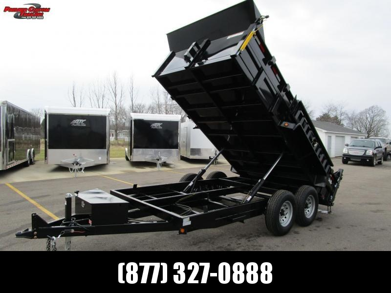 2019 GRIFFIN 83 X 14 14K Low Pro Dump Trailer in Ashburn, VA