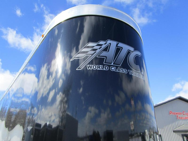 2019 ATC 28' ALLSPORT ALL ALUMINUM CAR/SNOWMOBILE HAULER