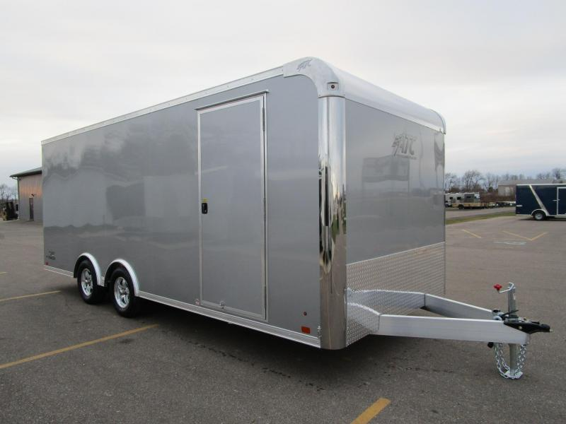 2019 ATC ALL ALUMINUM 8.5x20 RAVEN CAR HAULER