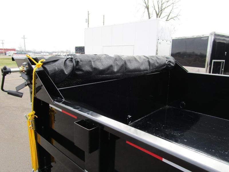 2019 GRIFFIN 83 X 14 14K Low Pro Dump Trailer