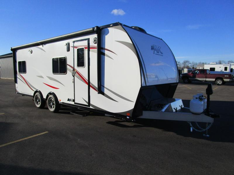 2017 ATC ALL ALUMINUM 8.5x24 TOY HAULER