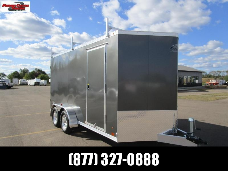2020 ATC ALL ALUMINUM 7x14 CONTRACTOR TRAILER