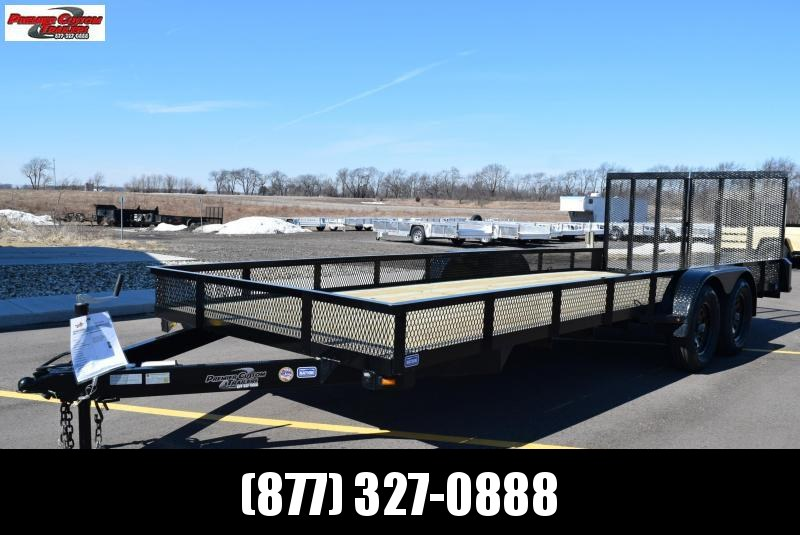 "2019 NATION 82""x20' OPEN LANDSCAPE TRAILER in Ashburn, VA"