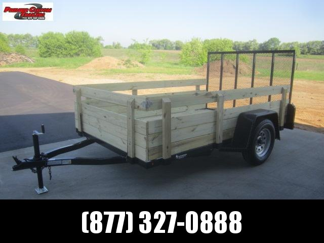 """2019 NATION 6'4""""x10' OPEN UTILITY TRAILER w/ REMOVABLE SIDES in Ashburn, VA"""