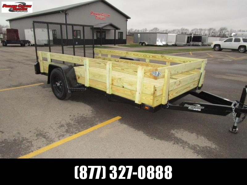 "2019 NATION 6'4""x12 OPEN UTILITY TRAILER in Ashburn, VA"