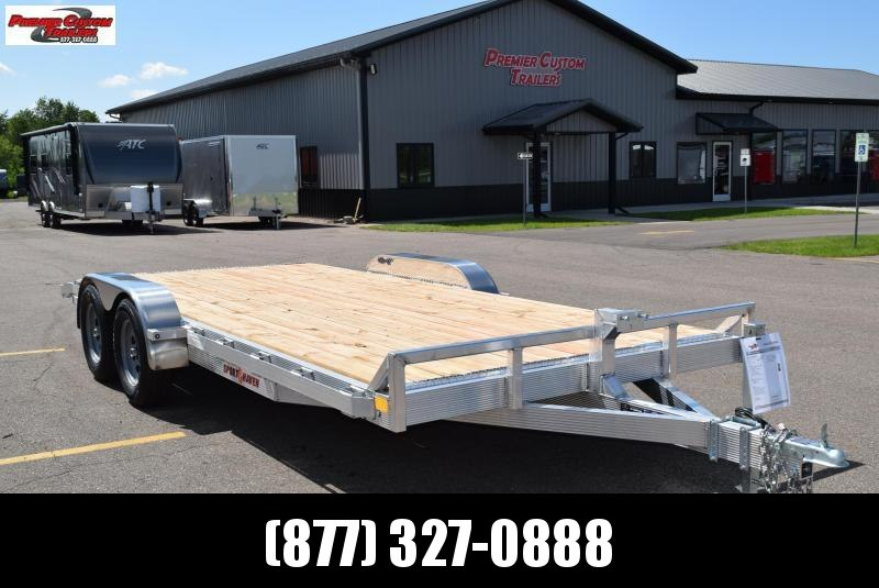 2019 SPORT HAVEN 18' ALUMINUM OPEN CAR HAULER w/ WOOD DECK in Ashburn, VA