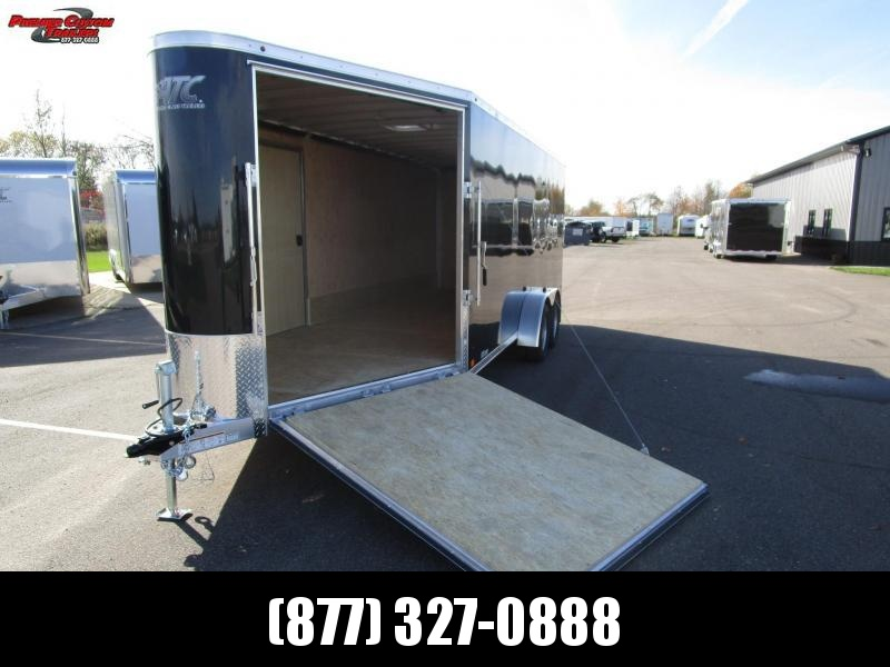 2019 RAVEN 24' ENCLOSED SNOWMOBILE/UTV TRAILER in Ashburn, VA