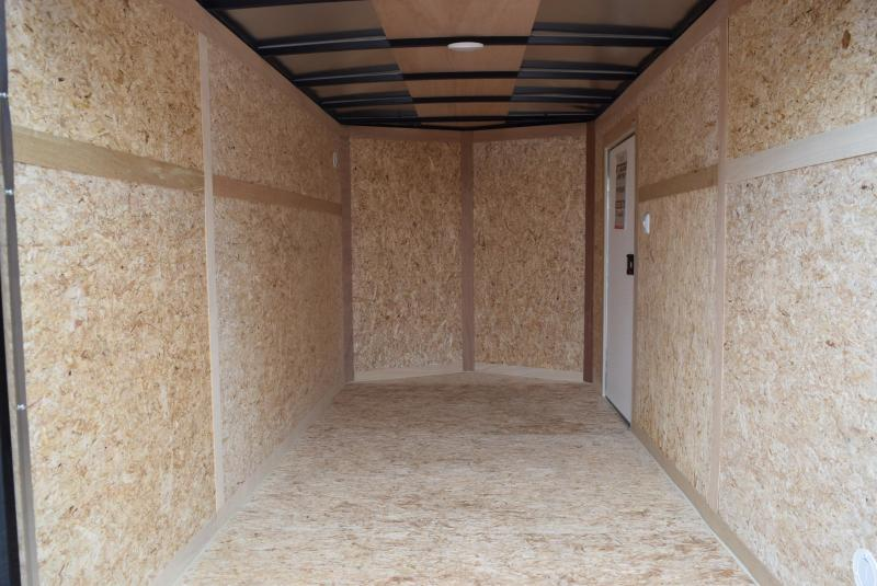 2019 BRAVO 6x12 SCOUT ENCLOSED CARGO TRAILER w/ DOUBLE DOORS
