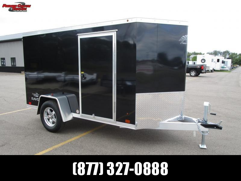2019 ATC ALL ALUMINUM 5x10 RAVEN CARGO TRAILER