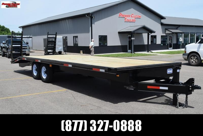2019 NATION 25' DECKOVER EQUIPMENT TRAILER