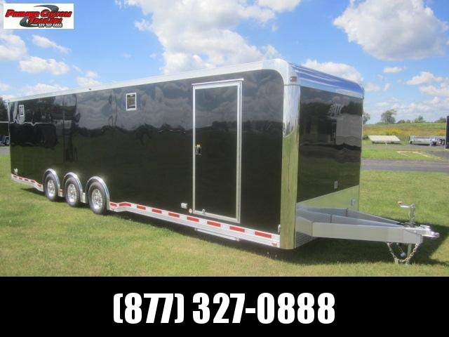 2019 ATC 32ft ALL ALUMINUM RACE HAULER w/CH305 PACKAGE