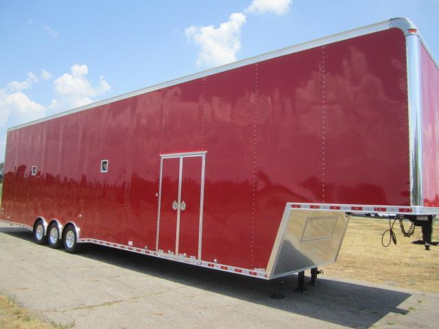 2019 48' GOOSENECK STACKER RACE HAULER