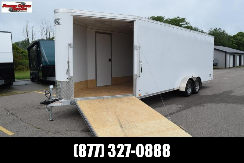 USED 2018 ATC 28' RAVEN ENCLOSED SNOWMOBILE TRAILER