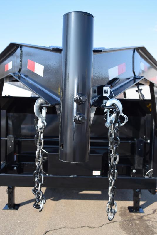 """2019 GRIFFIN 83""""x16' GOOSENECK DUMP TRAILER w/ TARP KIT"""