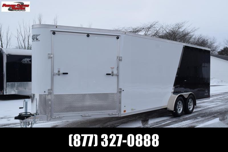 2019 RAVEN 26' ENCLOSED SNOWMOBILE/UTV TRAILER w/SNOW PACKAGE in Ashburn, VA