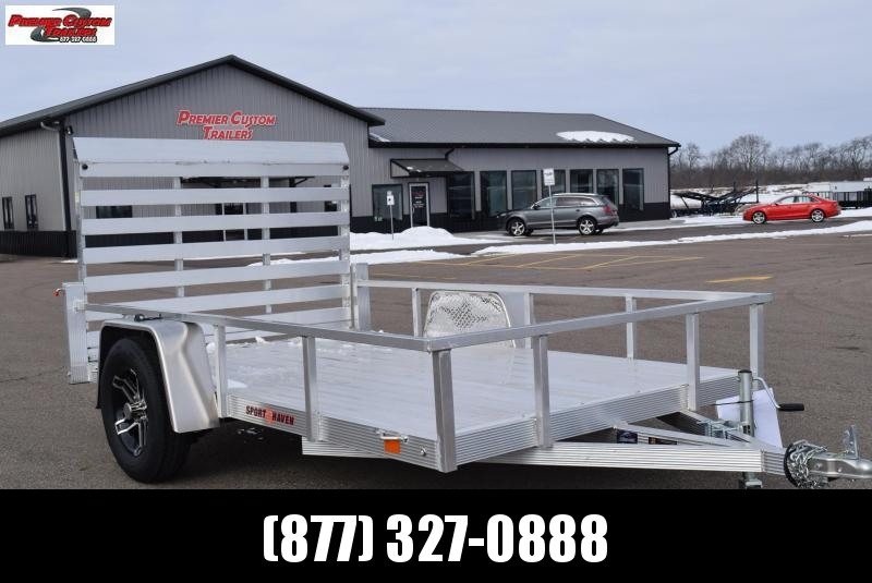 2019 SPORT HAVEN 6x10 DELUXE SERIES UTILITY TRAILER in Ashburn, VA