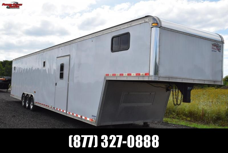 USED 2013 UNITED 48' SUPER HAULER RACE TRAILER
