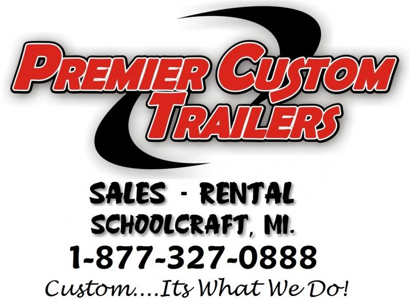 USED 2013 UNITED 48' SUPER HAULER RACE CAR TRAILER
