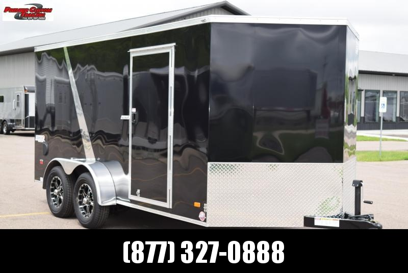 2019 BRAVO SCOUT 7x14 ENCLOSED MOTORCYCLE TRAILER