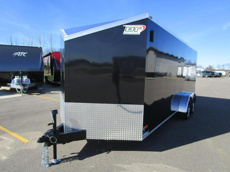 2019 BRAVO 7x18 SCOUT 4 PLACE ENCLOSED MOTORCYCLE TRAILER
