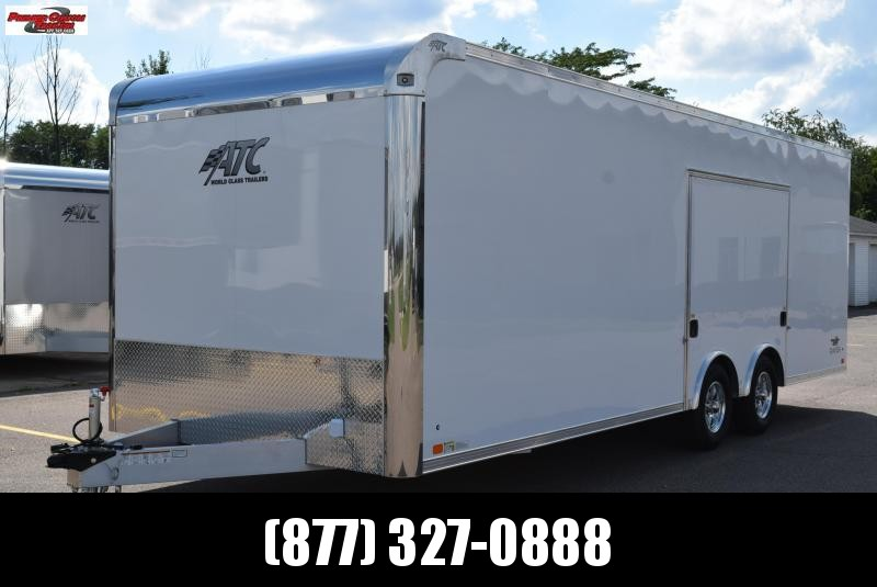 2019 ATC 24' RAVEN PLUS SERIES ALL ALUMINUM CAR HAULER