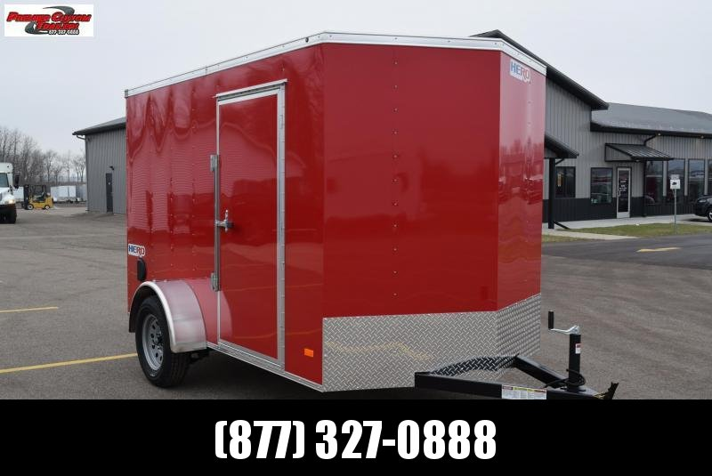 2019 BRAVO HERO 6x10 ENCLOSED CARGO TRAILER in Ashburn, VA