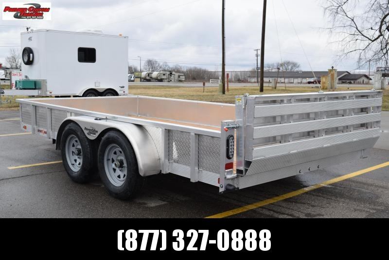 2019 SPORT HAVEN 7x14 OPEN UTILITY TRAILER w/ SIDES AND BI-FOLD GATE