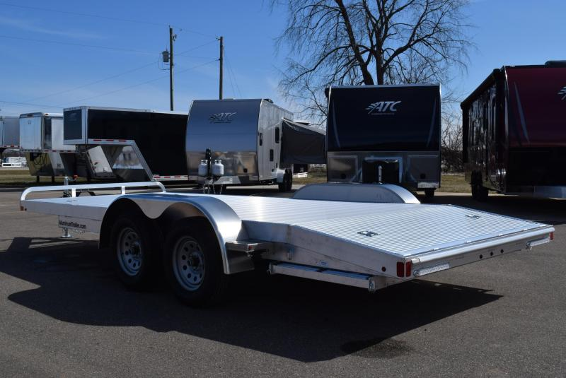 2018 ATC 18' ARROW CH ALUMINUM OPEN CAR HAULER