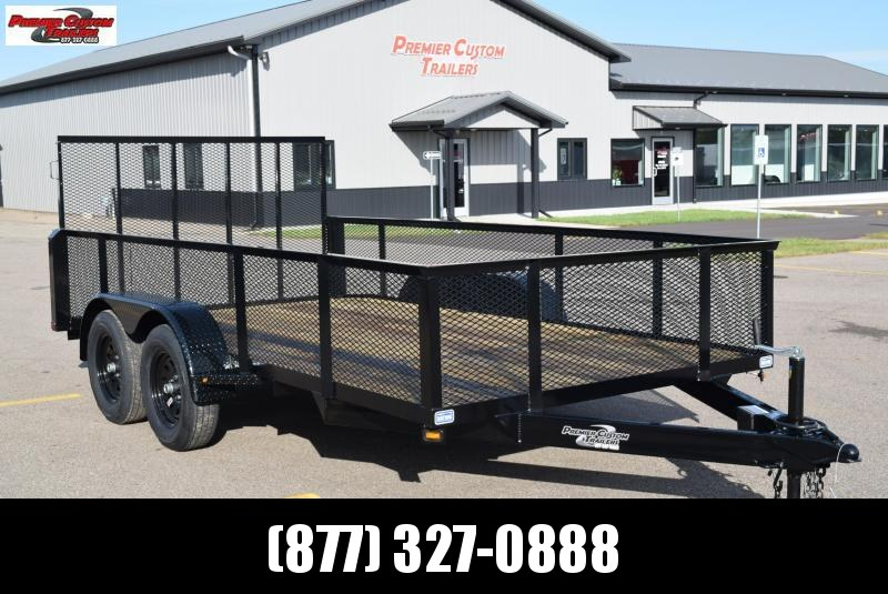 "2019 NATION 82""x14' OPEN LANDSCAPE TRAILER in Ashburn, VA"