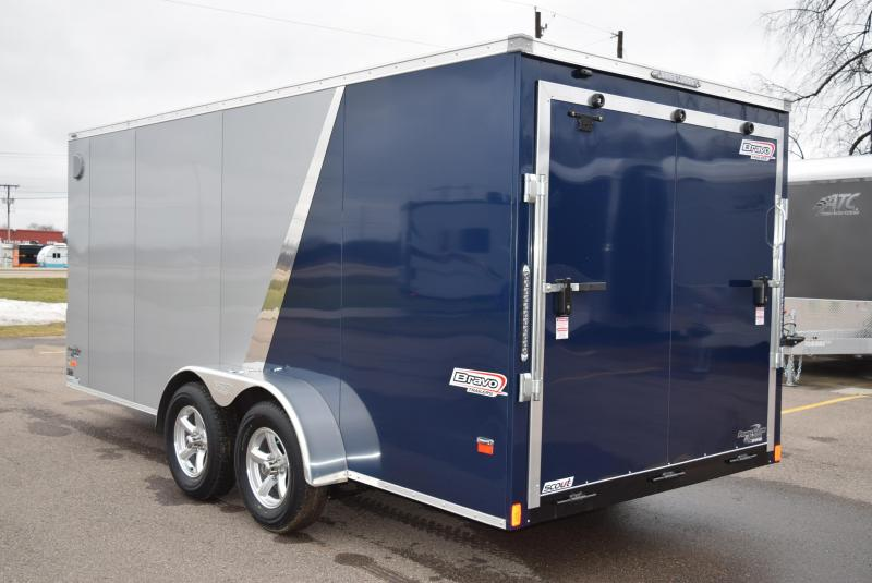 2019 BRAVO 7x16 SCOUT ENCLOSED CARGO TRAILER