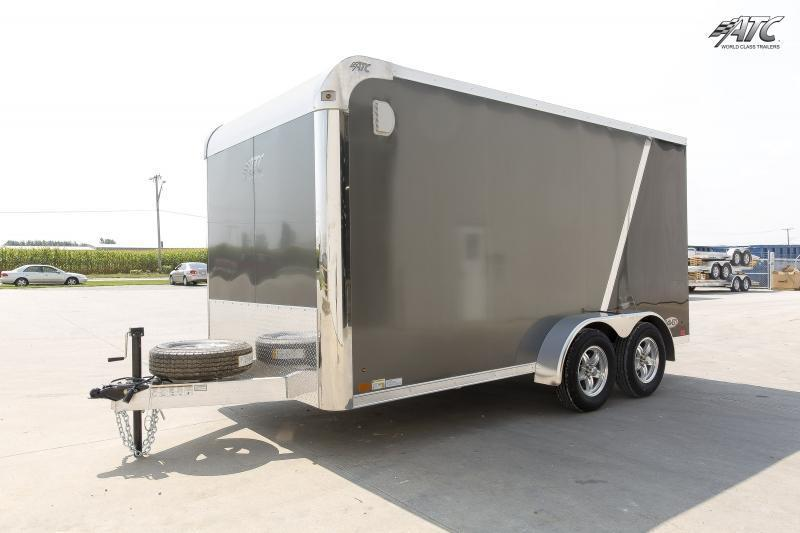 2019 ATC 7x14 RAVEN MOTORCYCLE TRAILER w/ MC PLUS PACKAGE