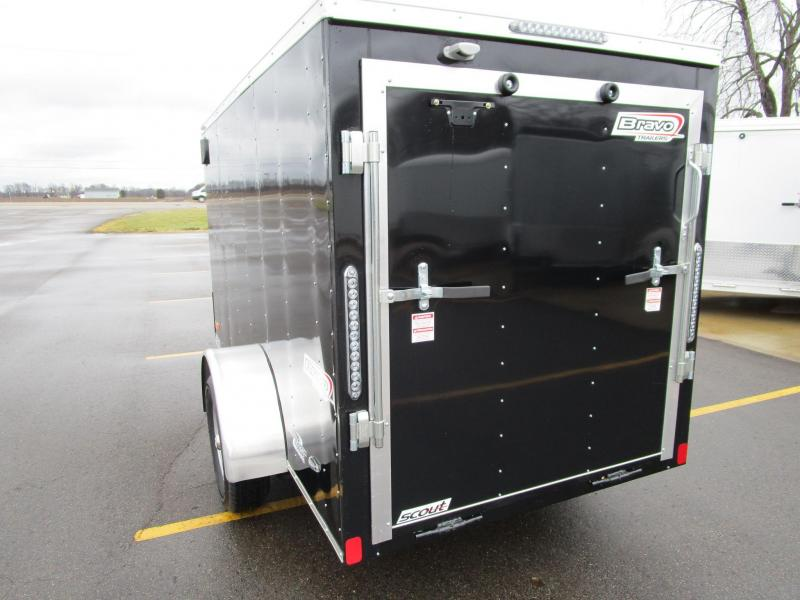 2019 BRAVO 5x10 SCOUT ENCLOSED MOTORCYCLE TRAILER