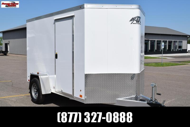 2019 ATC ALL ALUMINUM 6x10 CARGO TRAILER
