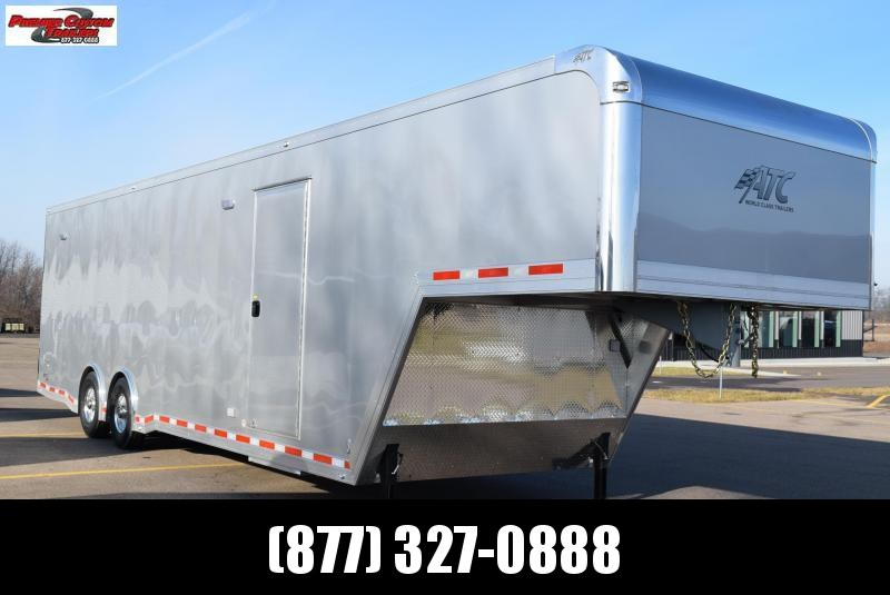2019 ATC 36' ALL ALUMINUM GOOSENECK RACE HAULER w/CH305 in Ashburn, VA