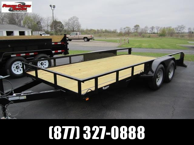 "2019 NATION 82""x16' OPEN LANDSCAPE TRAILER in Ashburn, VA"