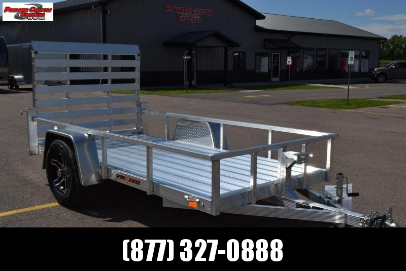 2019 SPORT HAVEN 5x10 DELUXE SERIES UTILITY TRAILER